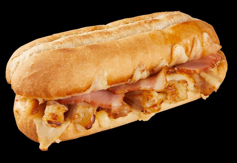 ドミノ・ピザ【PC向けサイト】カリフォルニアスタイル チキン&ベーコン ピザサンド