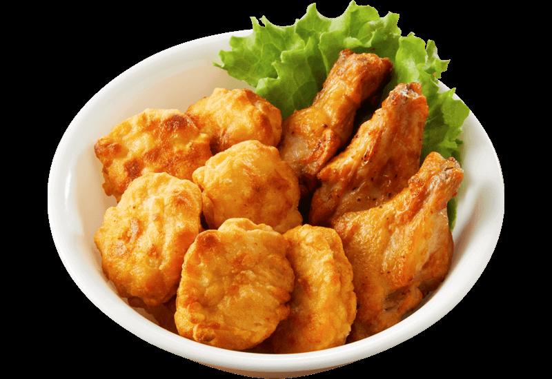 チキチキ(炙り焼きチキン&ナゲット)