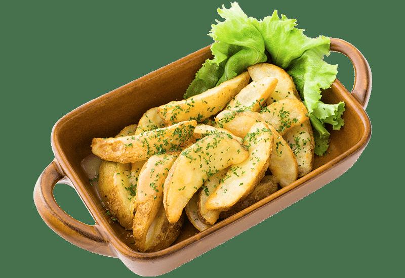 バターポテトフライ