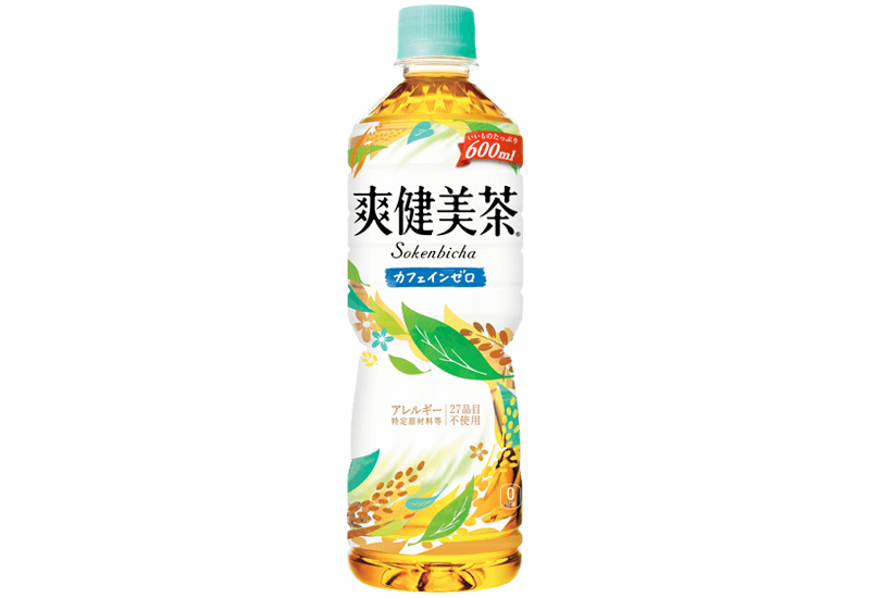 爽健美茶 600mlペットボトル